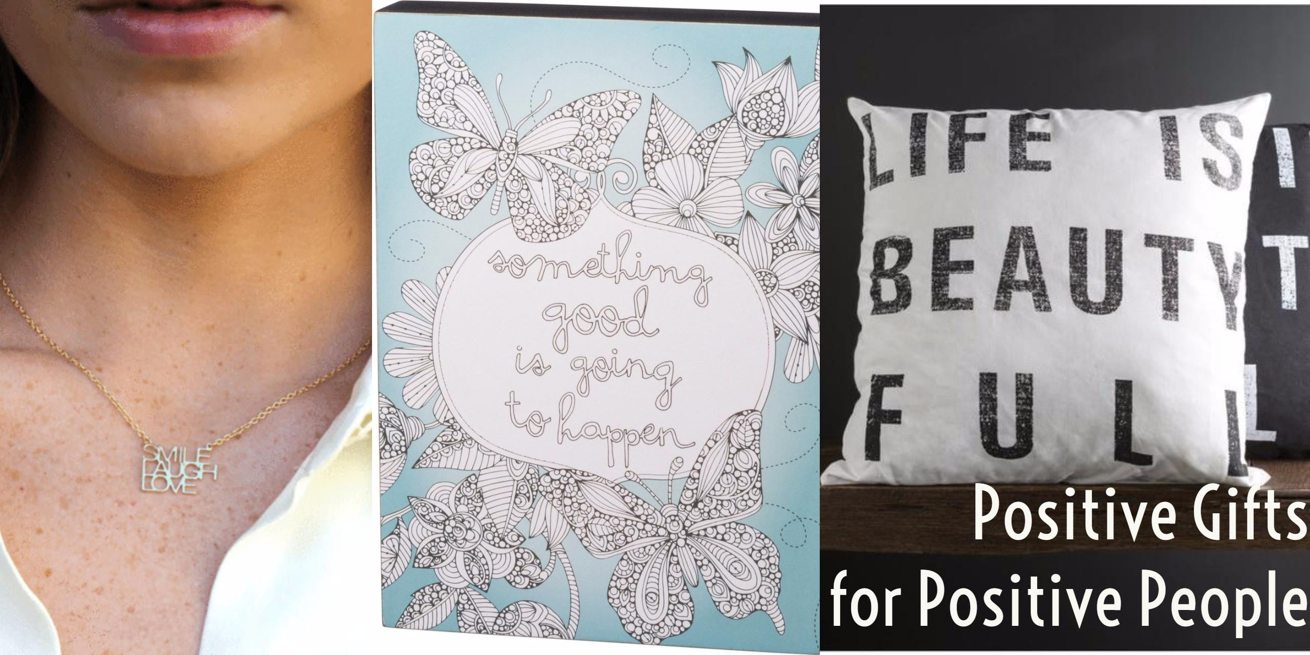 positive gifts for positive people