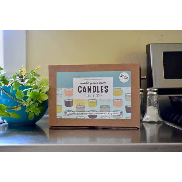 Make Your Own Soy Candle Kit - Add Your Own Scent