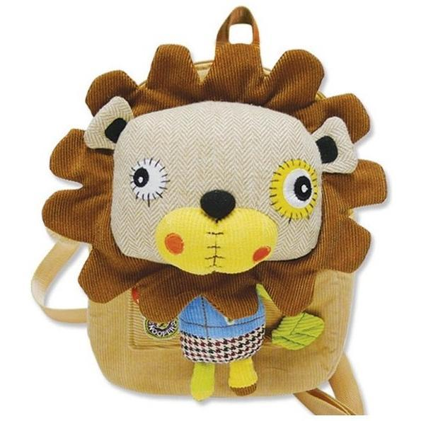Eco Snoopers Plush Backpack - Lion