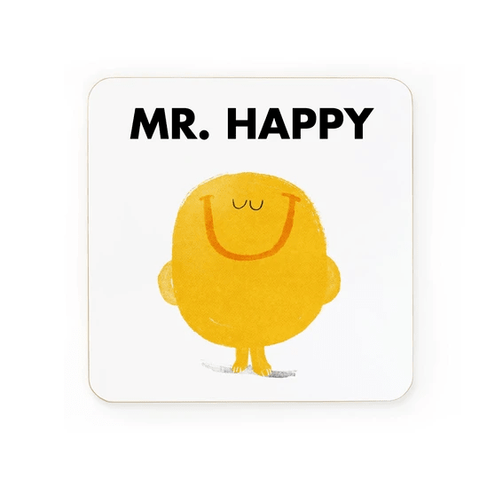 Ohh Deer Coasters Mr Happy Coaster - Set of 6