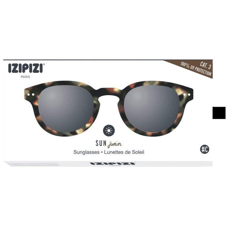 Izipizi Tortoise Junior Sunglasses Soft Grey Lenses