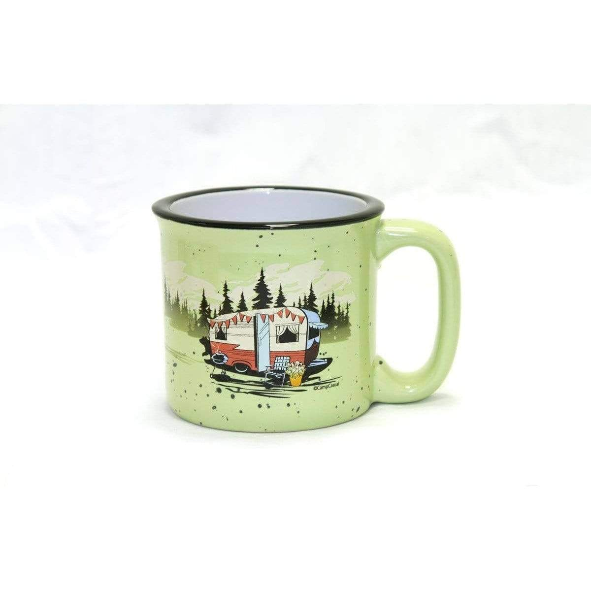Ceramic Camping Mug - Beary Green