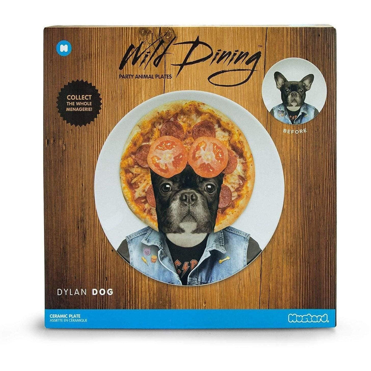 Wild Dining Large Ceramic Plate - Dylan Dog