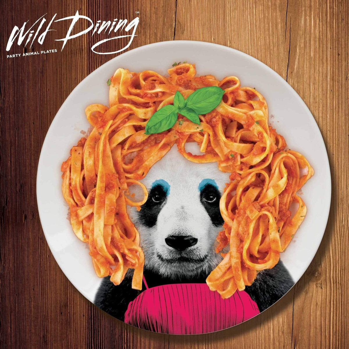 Party Plate Wild Dining Party Animal - Patricia Panda