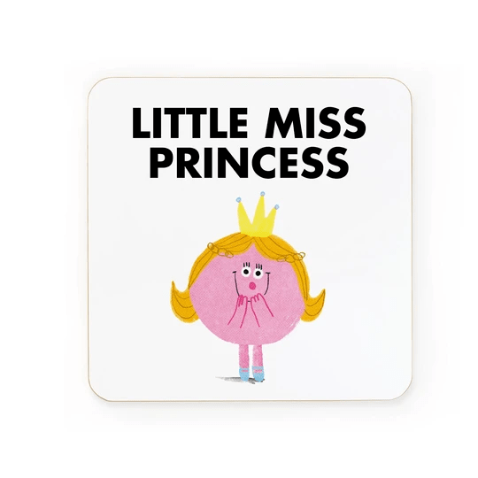 Ohh Deer Coasters Little Miss Princess Coaster - Set of 6