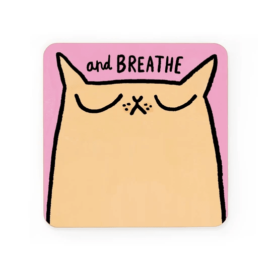 Ohh Deer Coasters Breathe Coaster - Set of 6