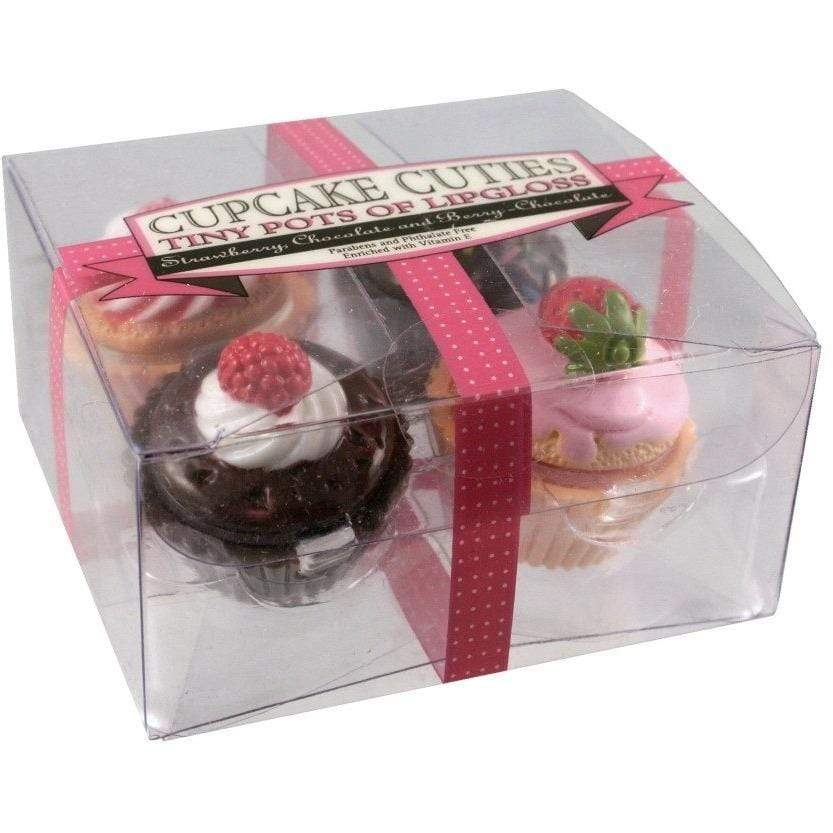 Cupcake Cutie Lip Gloss - Pack of 4