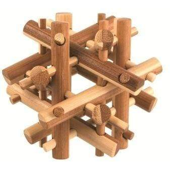 Bamboo Brainteaser Puzzle
