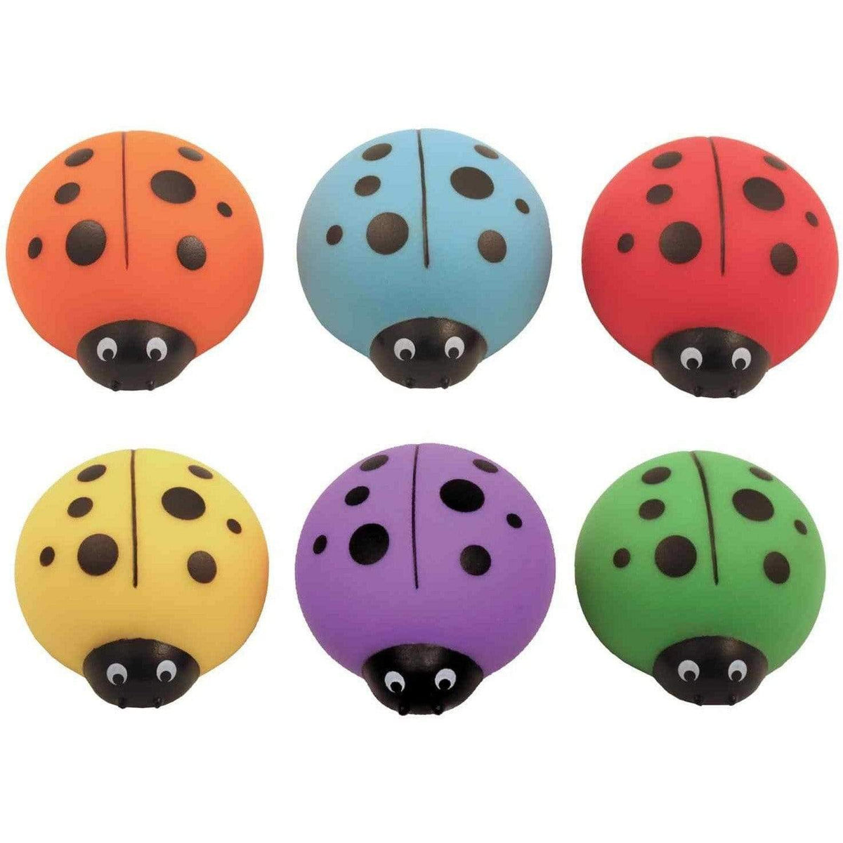 Lucky Ladybug Sharpeners - Set Of 3