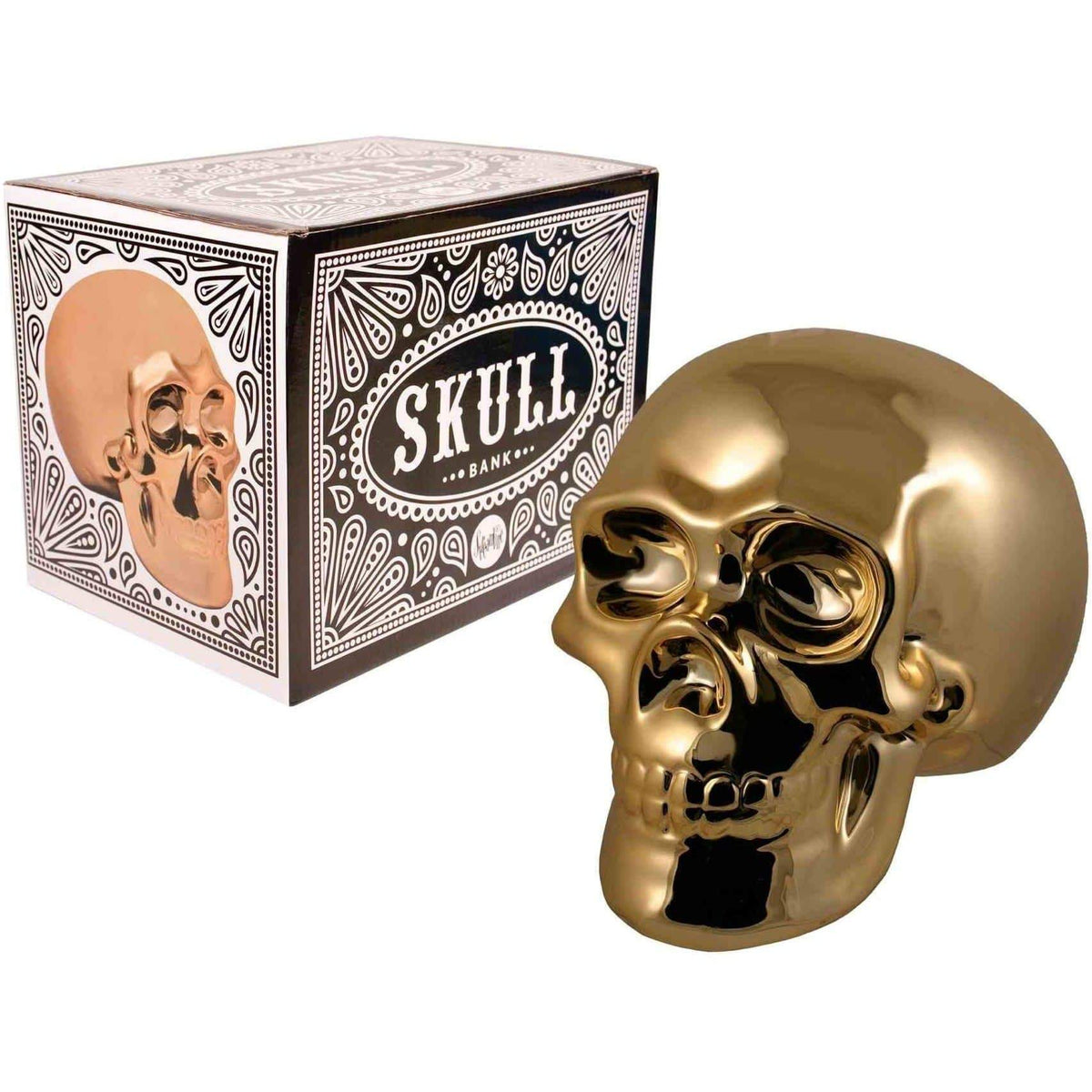 Golden Skull - Money Bank