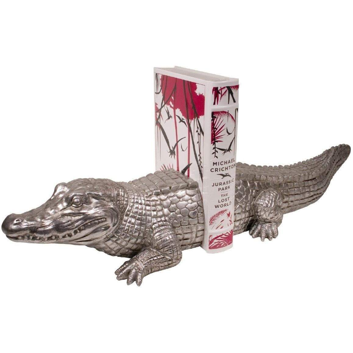 Crocodile Bookend Set