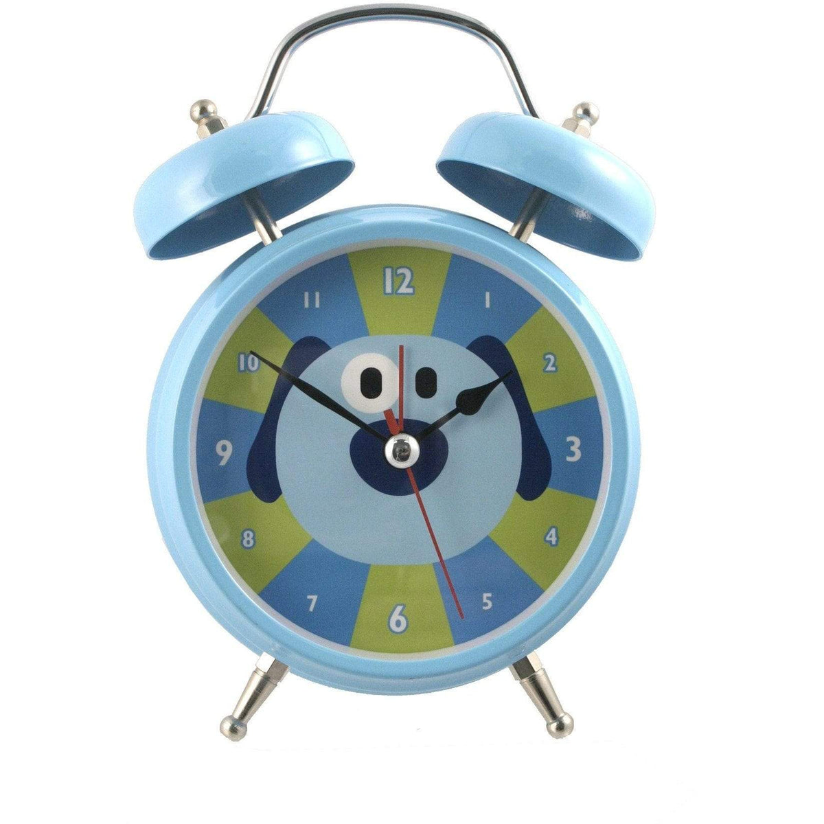 Silent Sweep No Tick Tock Talking Alarm Clock Dog