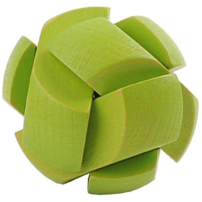 Mini 3D Wooden Puzzle - Green
