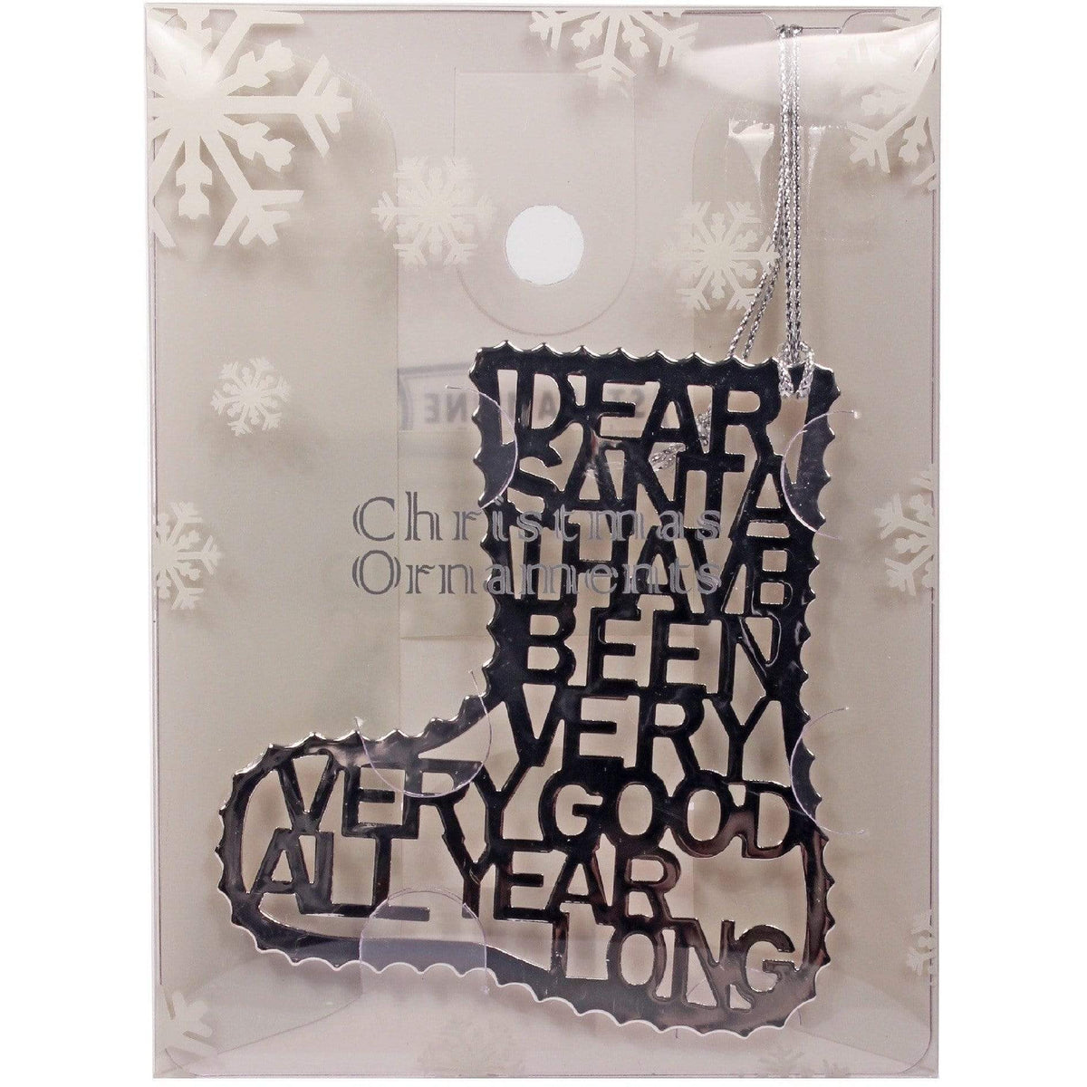 Dear Santa - Stocking Ornament