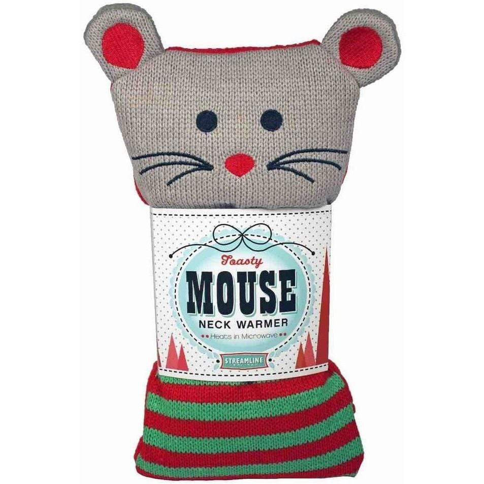 Cozy Critter Neck Warmer - Toasty Mouse