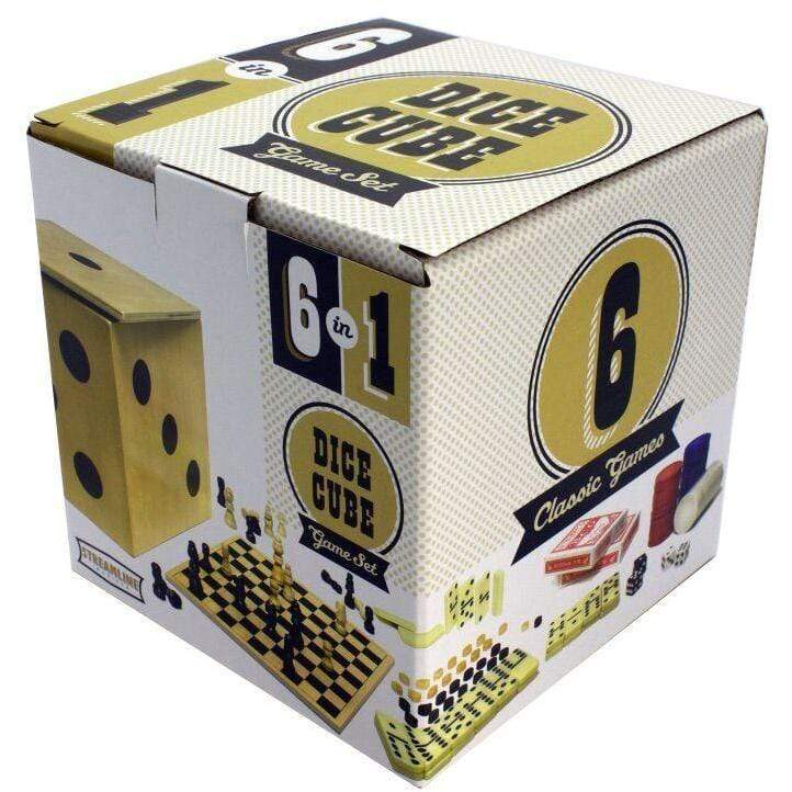 6-in-1 Game Cube Set