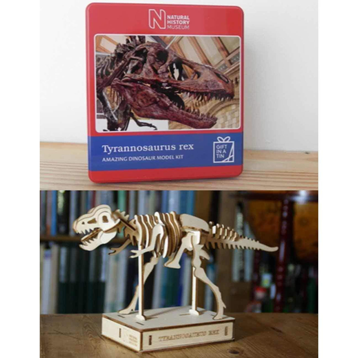 Tyrannosaurus Rex Puzzle - Gift In A Tin