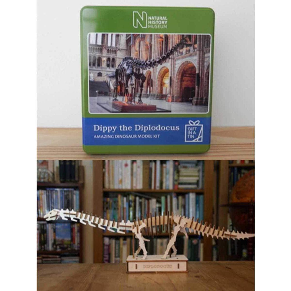 Dippy The Diplodocus - Gift In A Tin