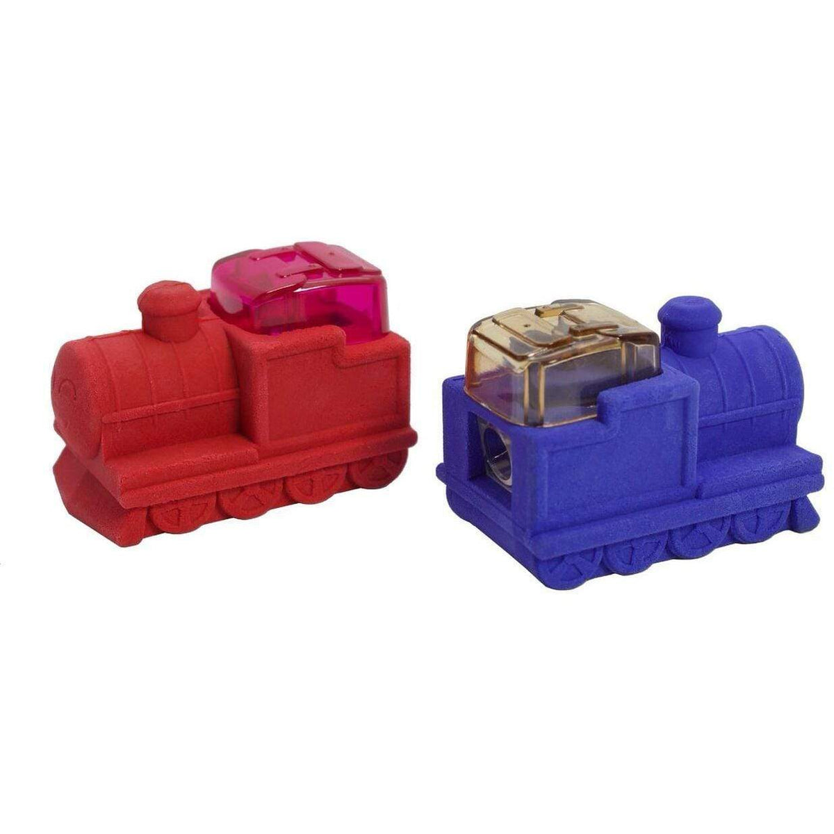 Train Engine Eraser & Pencil Sharpener - Set of 2