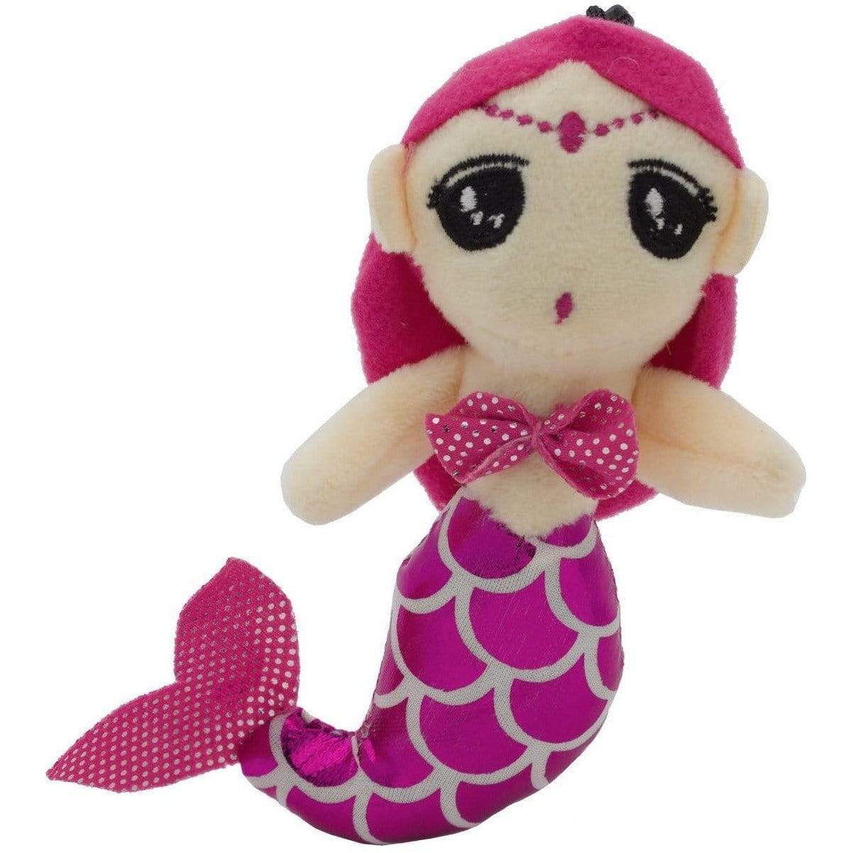Plush Mermaid Sound - Bag Tag Clip