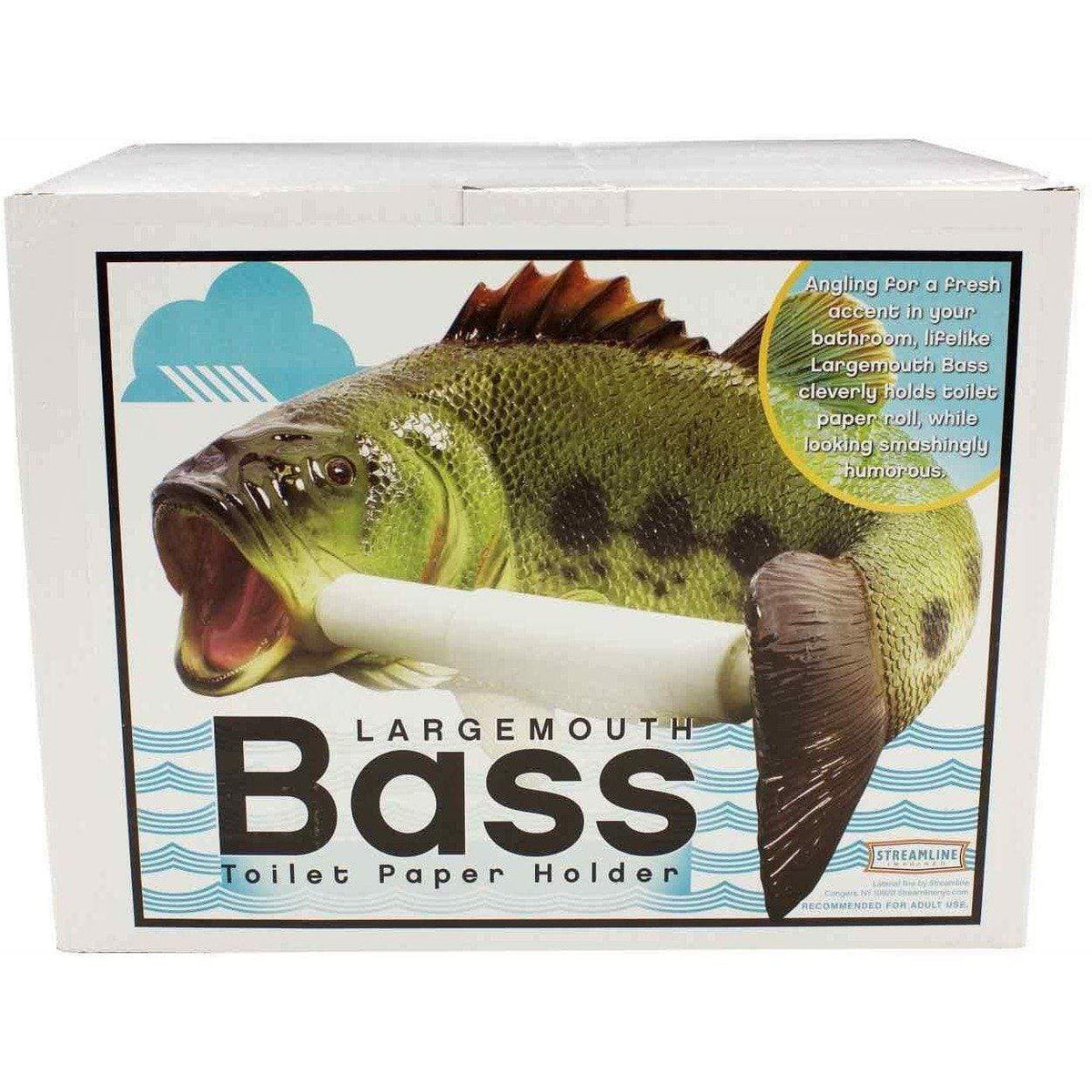 Large Mouth Bass - Toilet Paper Holder