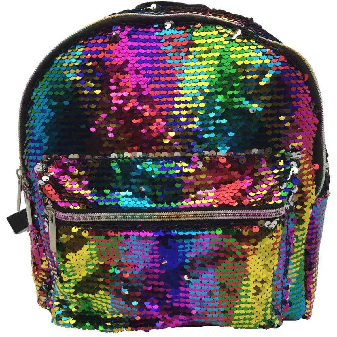 Rainbow Sequin Mini Backpack