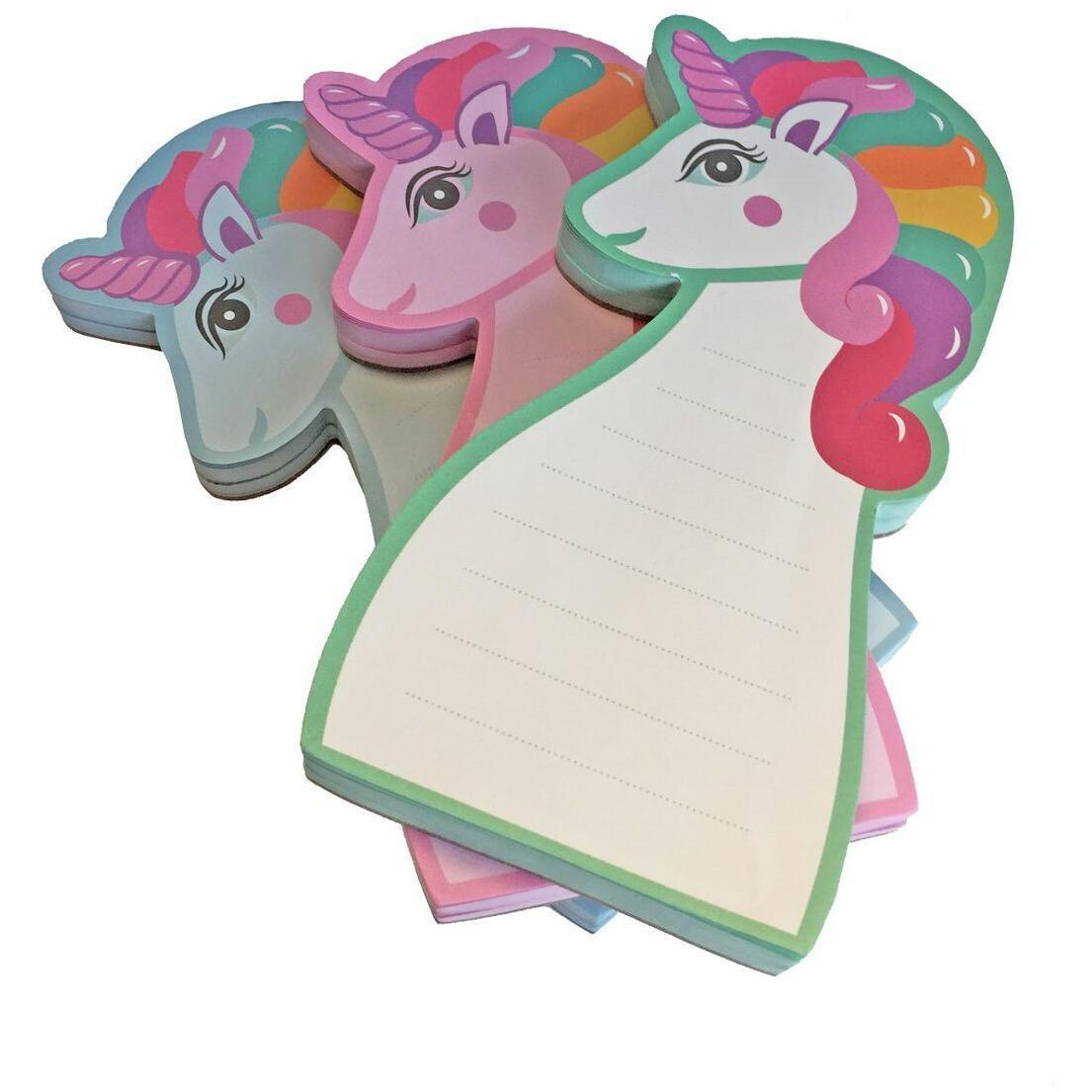 Unicorn Memo Notepads - Set of 3