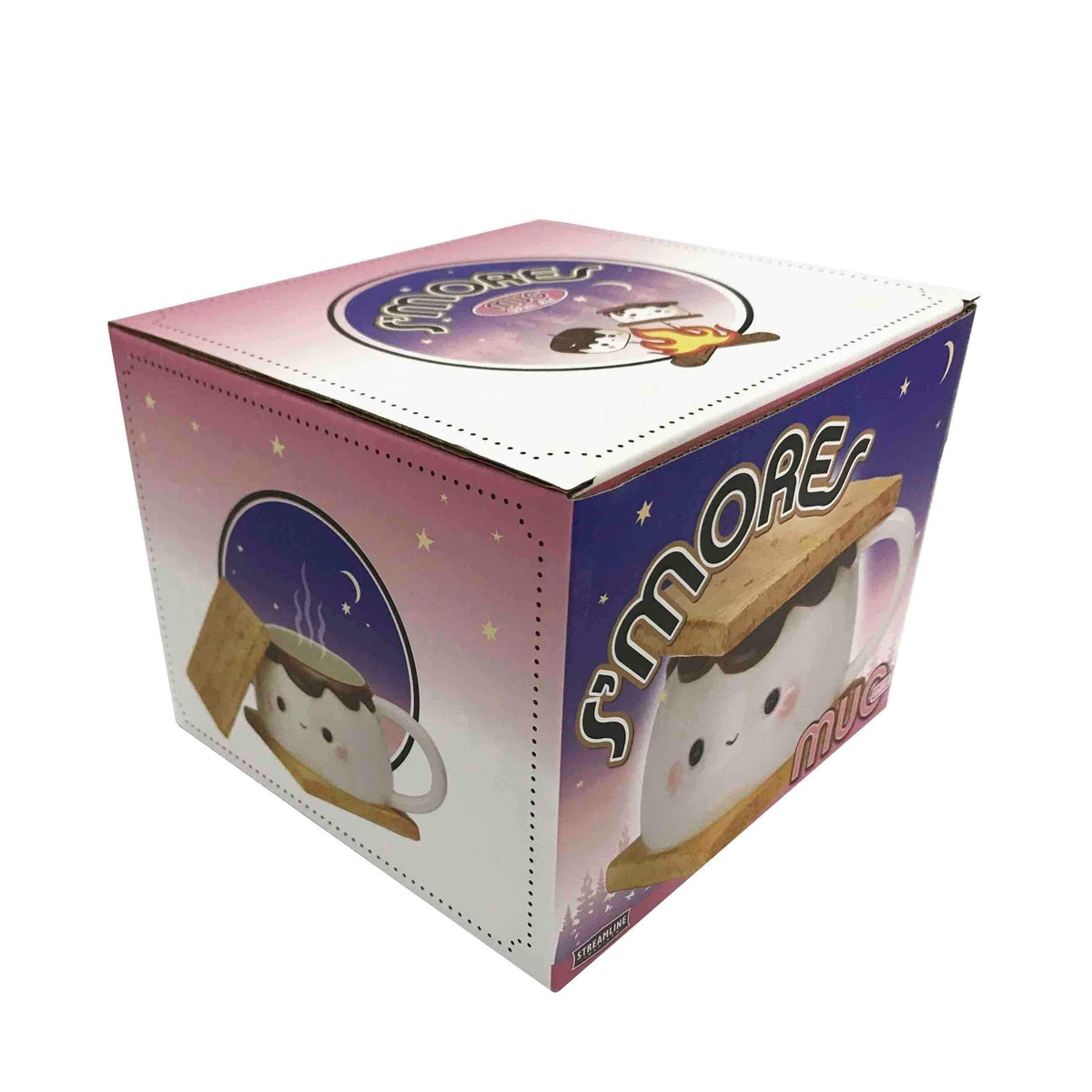 Marshmallow S'more Trinket Box