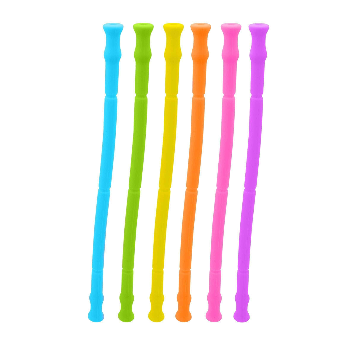 Travel Silicon Straw - Set of 6