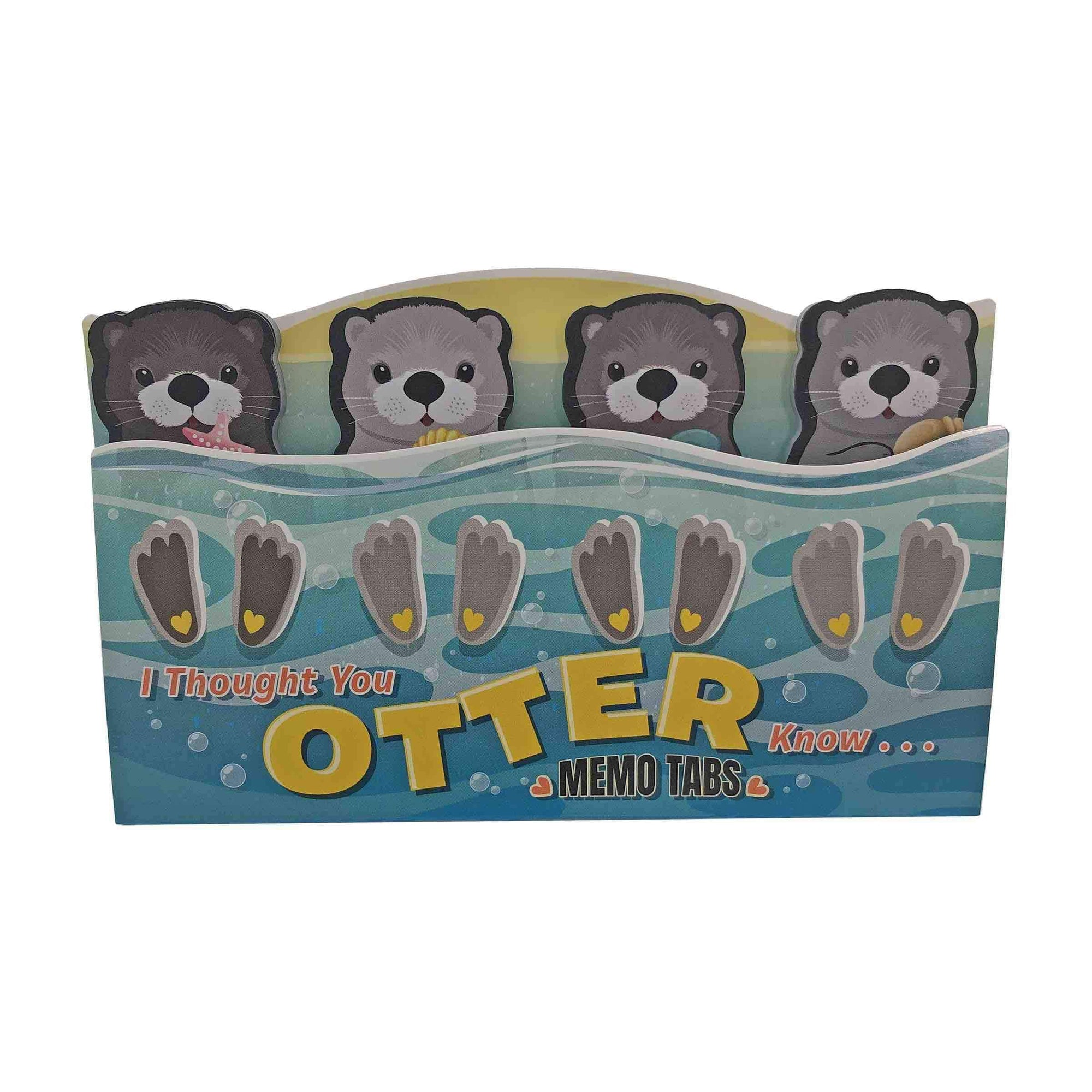 Streamline Stationery Your Otter Know Memo Tab Set