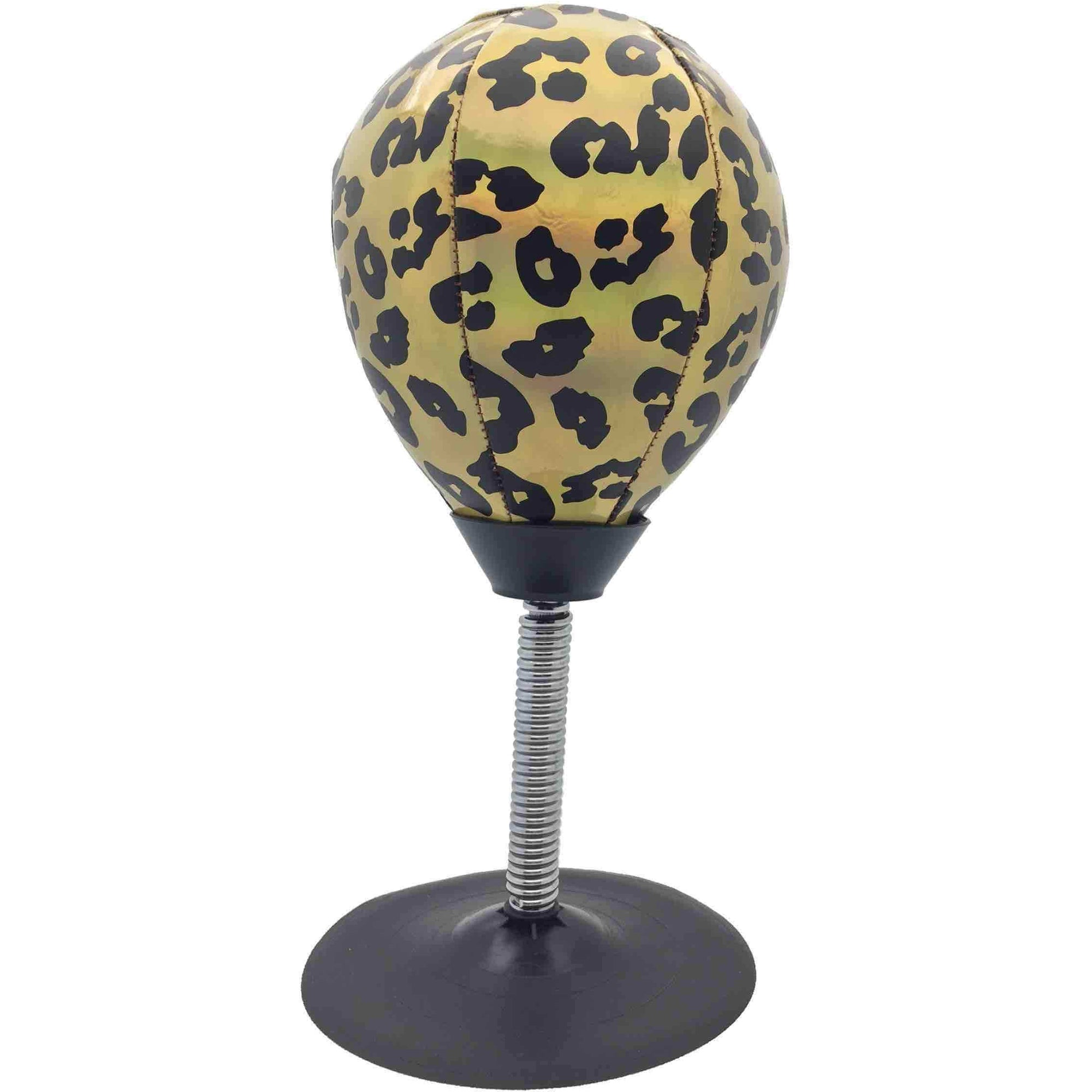 Streamline Personal Care Leopard Stress Buster Punching Bag