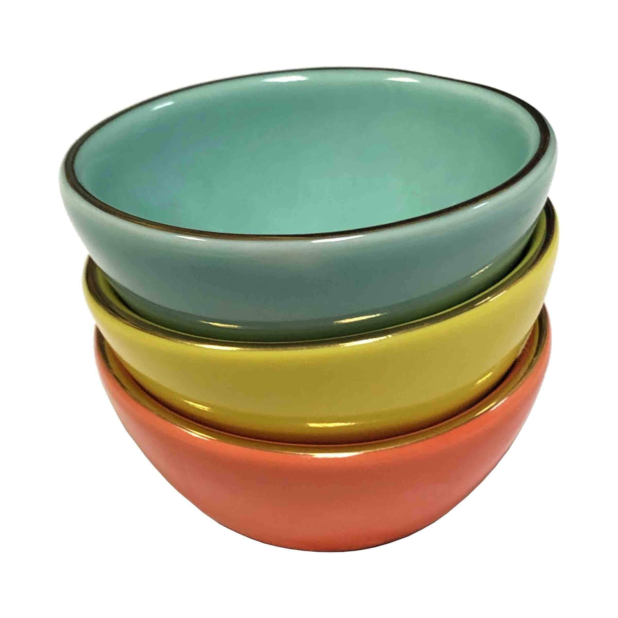 Streamline Empowered Vibes Mini Trinket Dishes - Set of 3