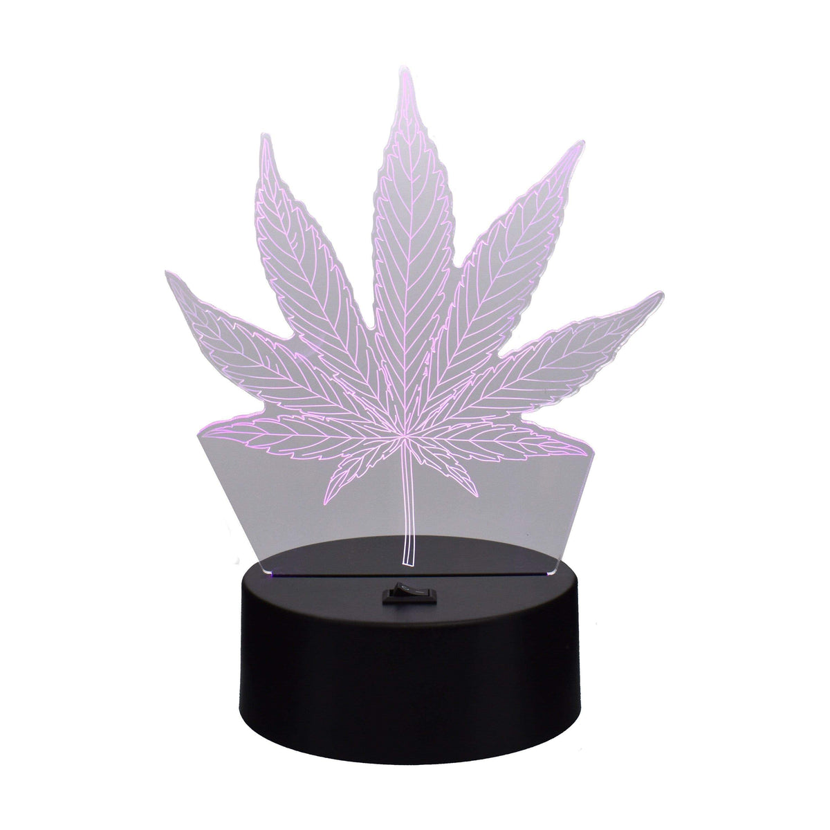 Cannabis Leaf Color Changing Light