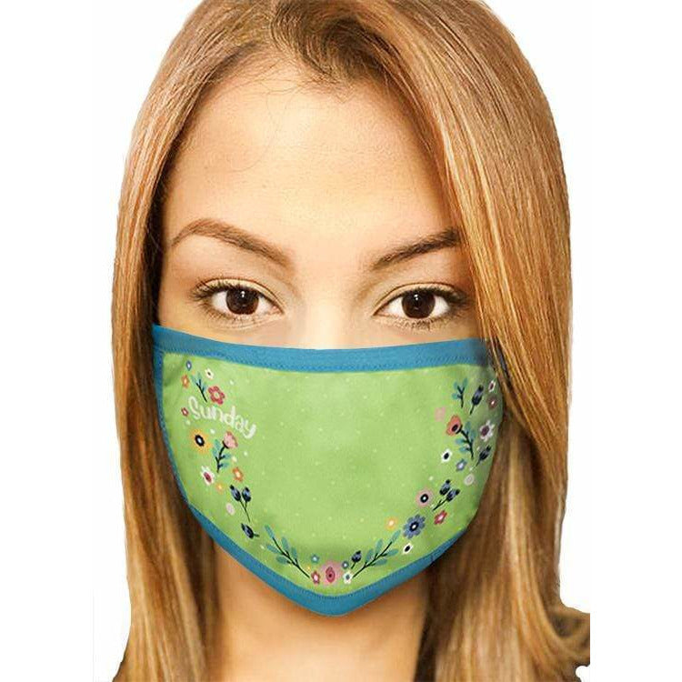 Streamline Personal Care 7 Days a Week Mask Set with Antibacterial Lining
