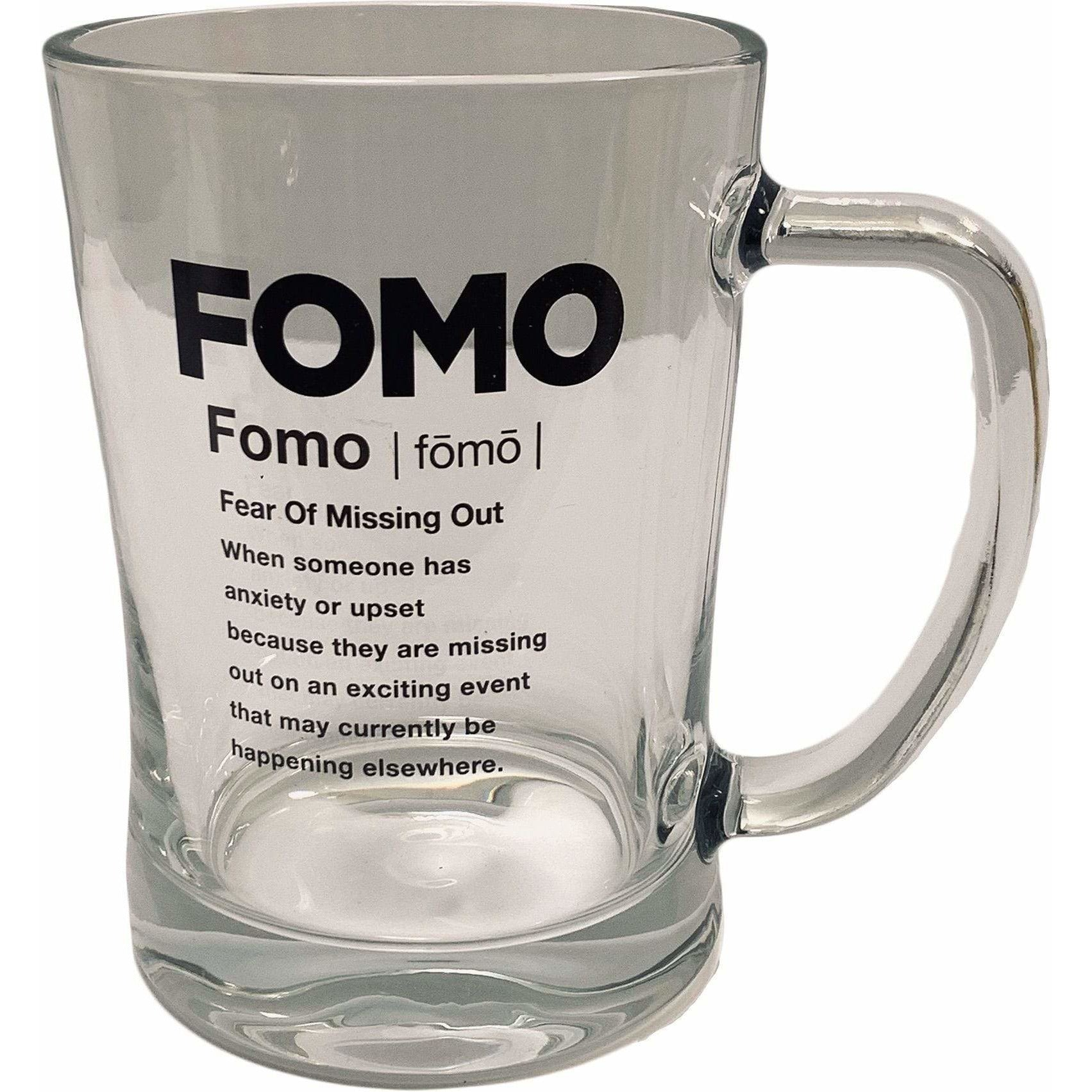 Streamline Mugs Super 22oz Slang Gang Glass Mug - FOMO