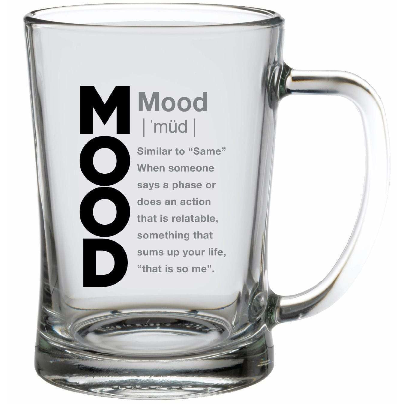 Streamline Mugs Super 22oz Slang Gang Glass Mug - MOOD