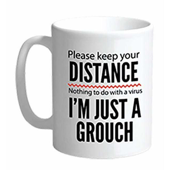 Streamline Mugs Sign of the Times 18oz Mug - KEEP YOUR DISTANCE
