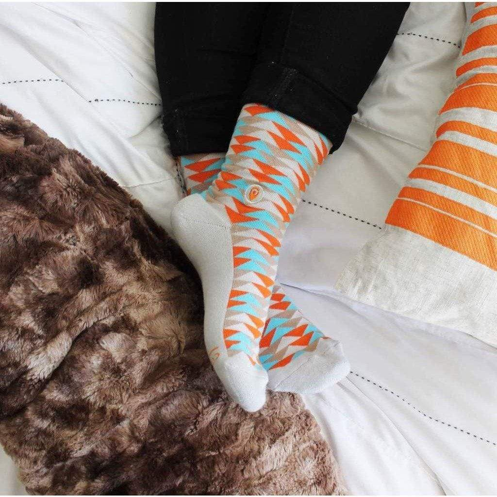 Socks That Stop Violence Against Women