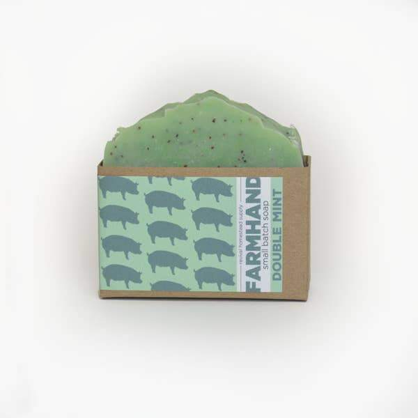 Handmade Double Mint Soap