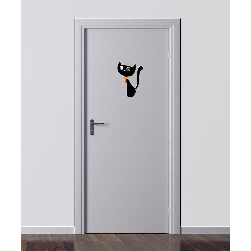 Excite Door Eye Sticker - Cat