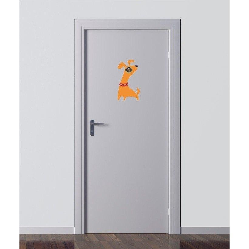 Excite Door Eye Sticker - Dog