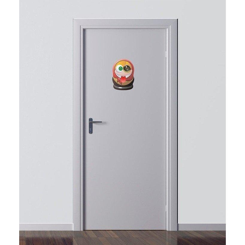 Excite Door Eye Sticker - Matryoshka Doll