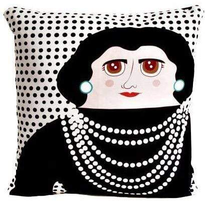 Late Greats Hand Made Pillow 16x16 - Coco Chanel