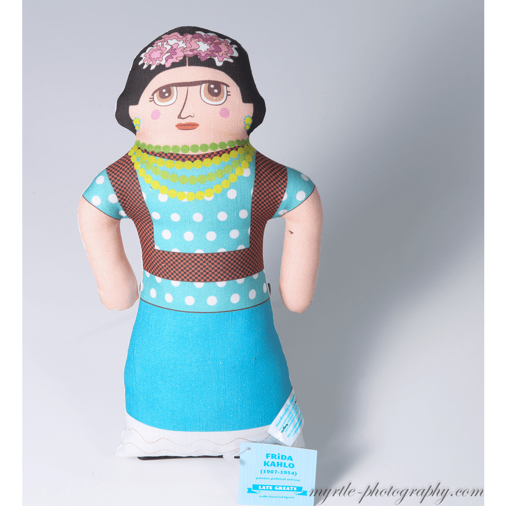 Late Greats Hand Made Pillow Doll - Frida Kahlo