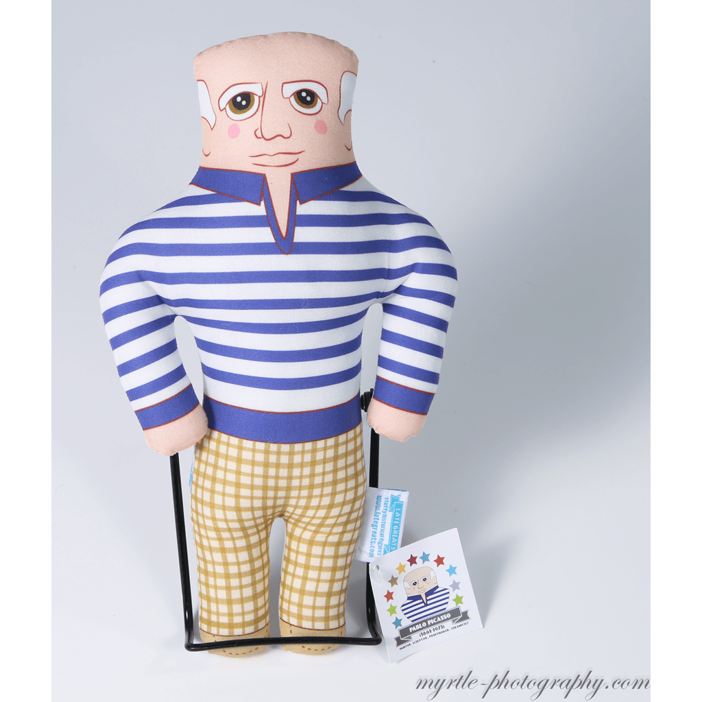 Late Greats Hand Made Pillow Doll - Pablo Picasso