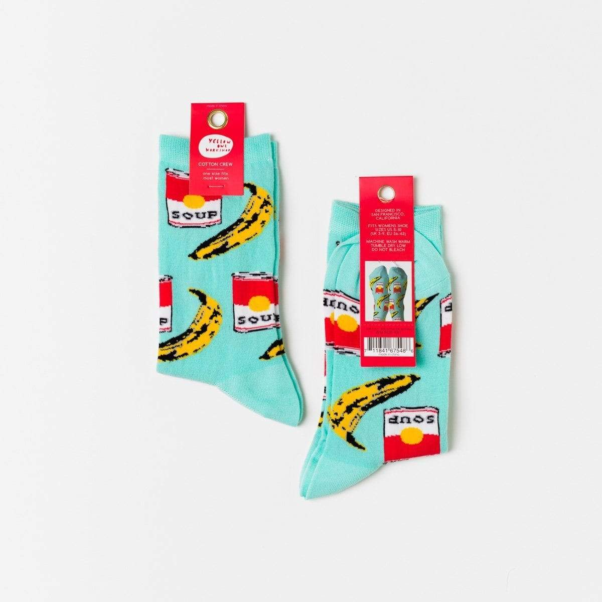 Pop Art Crew Women's Socks