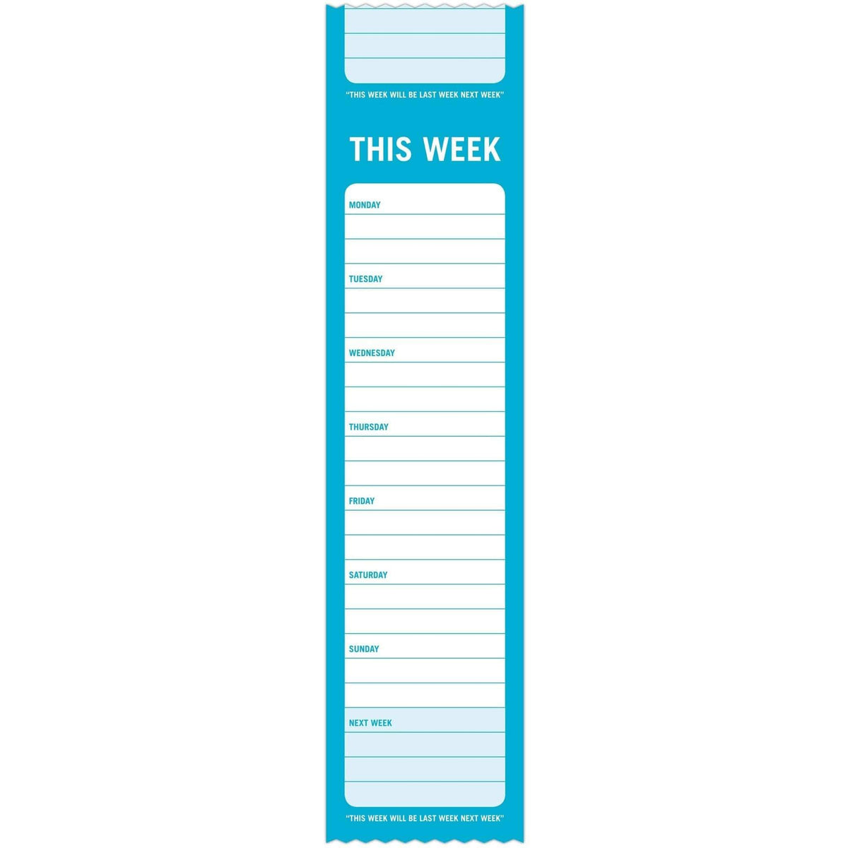 This Week Sticky Roll Notes