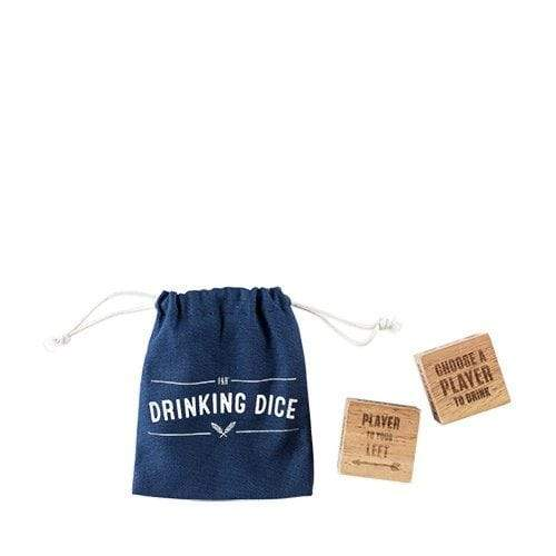True Brands Wooden Toys Wood Drinking Dice Set