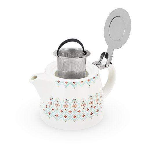 Pinky Up Tea Infusers Harper Arabesque Ceramic Teapot & Infuser
