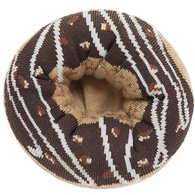 Doughnut Socks - Chocolate Glazed